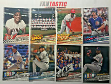 2020 Topps Series 1 & 2 DECADES BEST Insert Card YOU PICK S1 S2 inc CHROME