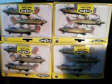 4 packs brand new Storm wildeye live pike soft plastic fishing lures,10cm