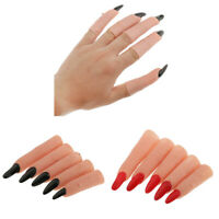 Funny Witch Nail Fake Witch Costume Fingers Christmas Masqurade Party Props
