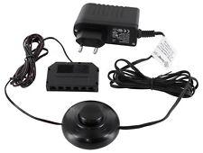 12V MINI-AMP - LED Netzteil SET 18W mit Fusschalter + 6-fach-Verteiler schwarz