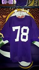 STEVE RILEY #78 MINNESOTA VIKINGS GAME USED HOME PURPLE JERSEY 1970's