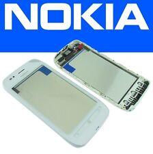 Touchscreen Digitizer Touch Screen + Rahmen Front Cover Nokia Lumia 710 Weiß NEU
