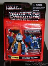 TRANSFORMERS HEROES OF CYBERTRON AUTOBOT POWERMASTER OPTIMUS PRIME APEX ARMOR