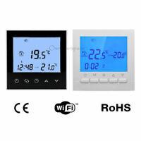 LCD CRONOTERMOSTATO DIGITALE SETTIMANALE PROGRAMMABILE TERMOSTATO WiFi NTC