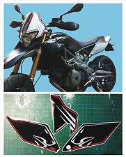 Aprilia DORSODURO 750 2008 Kit tabelle nere  - adesivi/adhesives/stickers/decal