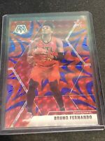 2019-20 Mosaic Bruno Fernando Reactive Blue Prizm Rookie Card RC Atlanta Hawks