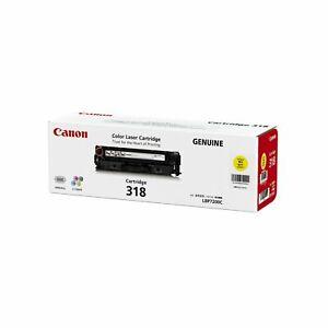 Canon Genuine CART-318Y YELLOW Toner For LBP7200CDN LBP7680CX - 2,400 Pages