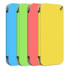 New PureGear iPhone 5C Slim Folio Wallet Case PINK Holds Credit Cards