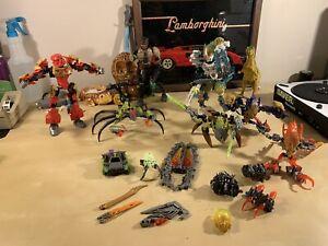 Huge Lot Of Lego Bionicle Figurines Transformers