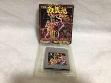 DOUBLE DRAGON  Game Boy Nintendo Japan GB Authentic