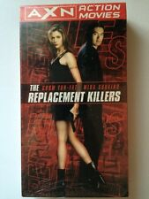 THE REPLACEMENT KILLERS - vhs 1998 - CHOW YUN-FAT - MIRA SORVINO -