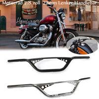 Motorrad 7/8 zoll  22mm Lenker Handlebar Für Harley Davidson Sportster XL883