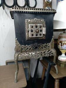 Antique Ornate Fancy Beautiful Gas Space Heater