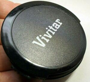 Vivitar 55mm Front Lens Cap snap on type Black vintage