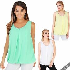 Women's Polyester Scoop Neck Casual Hip Length Tops & Shirts