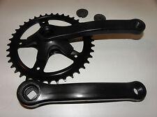 Kurbelsatz Kettenradgarnitur 32Z Stahl schwarz 100mm für Kinderräder Nr 06045