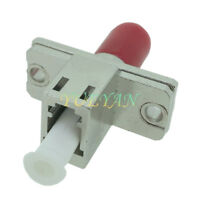 Optical Fiber Connector LC Female to DIN Female Adapter Flange Coupling