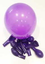 20 x Purple 5 Inch latex good quality small balloons, for weddings, decorating