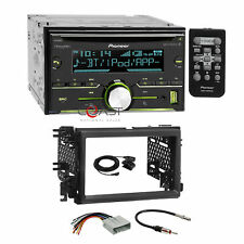 Pioneer CD USB BT Sirius  Stereo Dash Kit Harness for 04+ Ford Lincoln Mercury