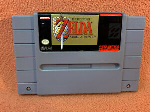 Zelda Link to the Past Super Nintendo SNES Original Authentic Retro Classic!