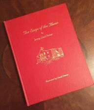 The Siege Of The Alamo A Poem by Jenny Lind Porter ( SIGNED BY DAVID DAMM illst.