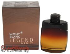 Legend Night By Mont Blanc 3.3oz/100ml Edp Spray For Men New In Box