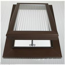 Brown Roof Vent For 16mm Polycarbonate SKY16B-B