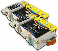 4 Compatible Kodak 10 Ink Cartridges (K10BK & K10C) for ESP Office 6150 Printer