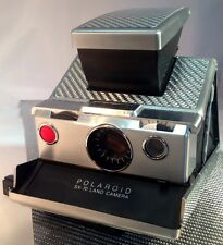 Polaroid SX-70 On Sale! Silver Texalium FG PolaSkinz Replacement Skins SLR680.