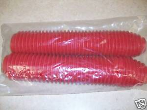 New Red Fork Boots For Yamaha YZ 125 250 490 IT TT 225 350 600 YZ125 YZ250 YZ490