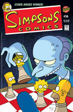 Simpsons Comic #56 ~~ MR.BURNS plays CHESS cover