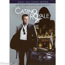 Casino Royale (2-Disc Fullscreen DVD) Jeffrey Wright, Eva Green, Mads Mikkelson