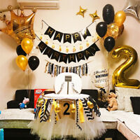 Gold Crown Foil Helium Balloon Princess Birthday Party Wedding Unicorn Tool AY