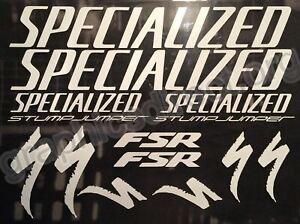 Specialized Stumpjumper FSR Graphics Set. (124)
