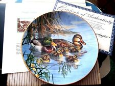 """Family Outing"" Premier Issue from A Loving Look:Duck Families 1991 Plate"