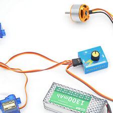 Multi Servo Tester 3CH ECS Consistency Speed Controler Power Channels CCPM  e@