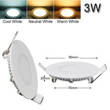 3W 6W 9W 12W 15W 18W 24W Led Ceiling Panel Down Lights Fixture Cool & Warm White