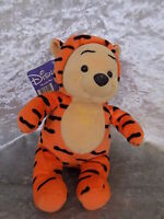 Winnie the Pooh Disney Plush with Tags Dressed as Tigger 9 inches tall