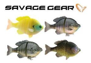 "Savage Gear 3D Bluegill 5"" 2 oz Swimbait Slow Sink BSS-125 (Select Color)"