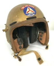 Vintage Us Air Force Auxiliary Civil Air Patrol Flight Helmet