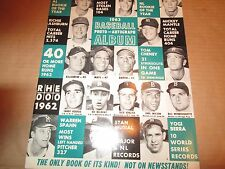JKW 1962 Seasons Highlights MANTLE,MUSIAL,KOUFAX AND MORE