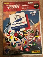 Rare FRANCE 98 1998 ALBUM FIFA WORLD PRINTED BY PANINI OFFICIAL REPRINTED!