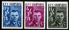 Albania 642-43 **, 1. spazio volo WOSTOK 1, Gagarin