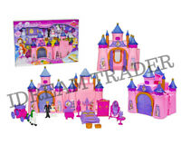 Princess Musical Castle Play Set w/Light & Music - 2973 - Ideal Girls Gift Toy