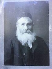 Antique 1800s Photo Art Print Jewish Man New York Borsuk Studio 12x10