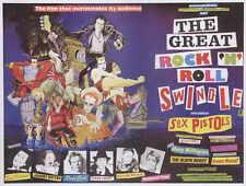 THE GREAT ROCK 'N' ROLL SWINDLE Movie POSTER 27x40 B Malcolm McLaren Steve Jones