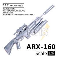 "1/6 Scale ARX-160 Assault Rifle Grenade Launcher For 12"" Action Figures Gun Toy"