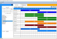 Accurate Employee Scheduler for Microsoft Windows PC Business Schedule Creator