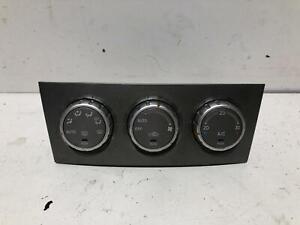 Subaru FORESTER Heater & A/C Controls XS 04/04-02/08 P/N SA070
