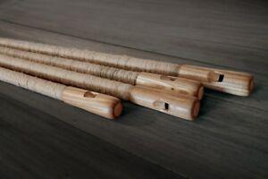 Overtone (harmonic) flute (kaluka, Koncovka, seljefløyte, Willow flute) in C key